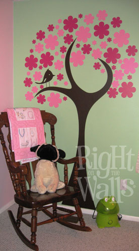 Post image for Decorate your Child's Nursery Right with Vinyl Wall Art from Right on the Walls- Review, Discount, and Giveaway