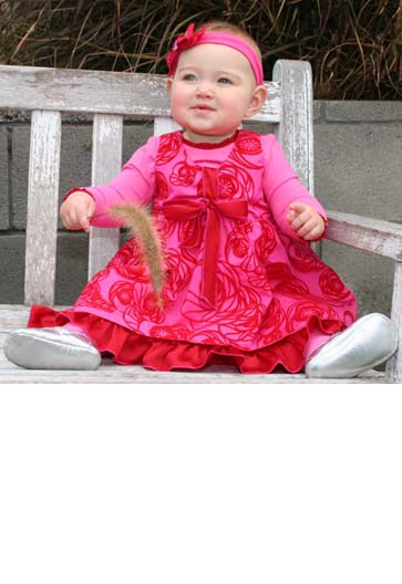 """Baby Lulu """"Princess Butterfly"""" Infant Dress – Compare Prices"""