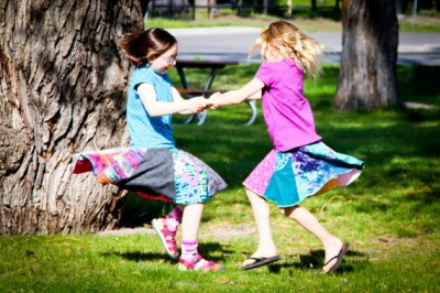Post image for Upcycled Twirly Skirts from Twinkle on Etsy- Review