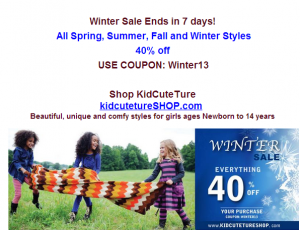 Post image for KidCuteTure is Having a Big Big Sale!!!!